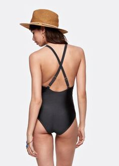 Costesfashion - Lace Up Swimsuit=