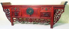 Antique Chinese Petit Altar (5066), Circa early of 19th century