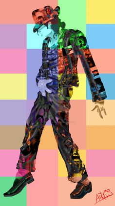 Art with Soul - Colors - The King of Pop, Rock and Soul! MICHAEL JACKSON POP ART by AresGodOfWarIres