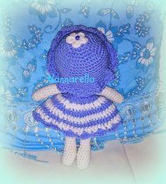 Il MONDO INCANTATO DI Anna Nannarella: AZZURRINA.....bambolina