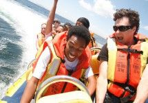 Power Boating from the V&A Waterfront in Cape Town with Waterfront Charters - South Africa