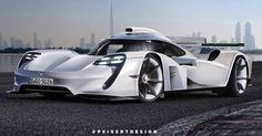 This Radical Road-Going Porsche 919 Race Car Needs To Happen. Behold the successor to the Porsche 918 and 911 we've been dreaming of. Porsche Carrera Gt, Porsche 918, Porsche Cars, Ferrari 458, Lamborghini, Car Throttle, Vintage Sports Cars, Car Memes, Sweet Cars