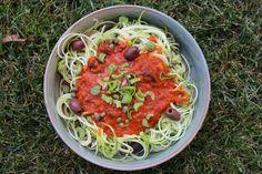 img_4399 Zucchini, Spaghetti, Vegan, Ethnic Recipes, Food, Gluten Free Recipes, Eat Lunch, Healthy Recipes, Essen