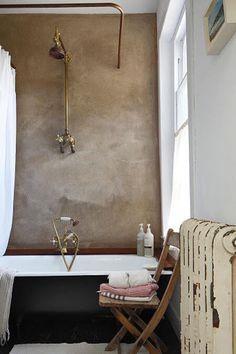 Commentaires Home Interior, Bathroom Interior, Interior Design, Bathroom Remodeling, White Shower, White Bathroom, French Bathroom, Bathroom Vintage, Bathroom Mirrors