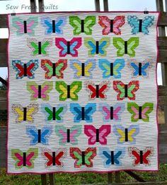 Sew Fresh Quilts--Butterflies
