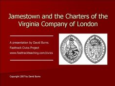 jamestown-and-the-charter-of-the-virginia-company-of-london-presentation by David  Burns via Slideshare