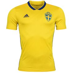 db41f34503a Sweden World Cup Home Soccer Jersey 2018 This is the Sweden 2018 World Cup  Home Football
