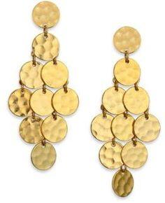 Stephanie Kantis Shimmer Chandelier Earrings
