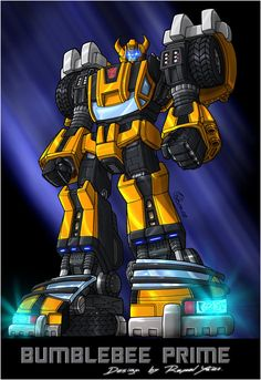 Bumblebee Prime Colors. by fargnay on deviantART