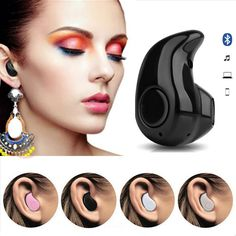 Mini Wireless in-ear Earpiece Bluetooth Earphone Cordless Headphone Blutooth Stereo Earbuds in ear Headset For Phone iPhone 7 6