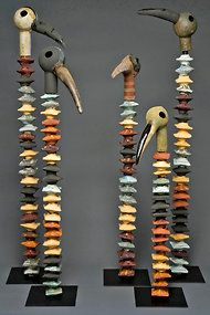 """Marilyn Richeda's """"Lineage: 5 Spiney Birds"""""""