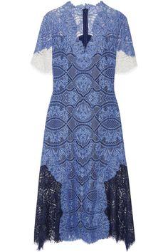 Jonathan Simkhai - Corded Lace Dress - Storm blue - US