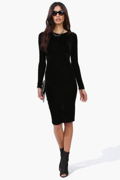 show off your curves in this edgy dress ! http://necessaryclothing.hardpin.com/tracker/c.php?m=HardPin&u=type359&cid=1022&url=http://www.necessaryclothing.com/velvet-midi-dress.html?via=HardPin&u=type359