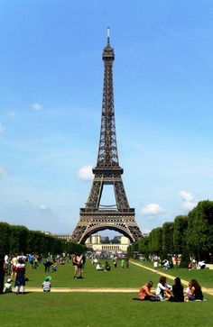 Eiffel Tower - Paris - France