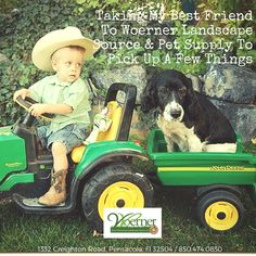 Bring your best furry friends with you to #Woerner #Landscape Source & #Pet Supply in #Pensacola