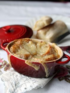 The secret to good French Onion Soup fit for a Queen. The perfect recipe for a crisp and cool fall day.