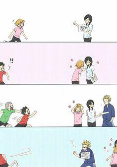Manga Haikyuu, Haikyuu Karasuno, Haikyuu Funny, Haikyuu Fanart, Kageyama, Nishinoya, Haikyuu Volleyball, Volleyball Anime, Hinata