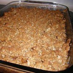 My favorite apple crisp recipe