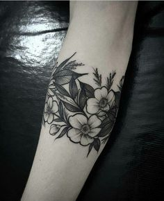 Floral band.