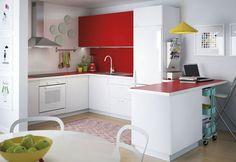 Uma cozinha, dois estilos