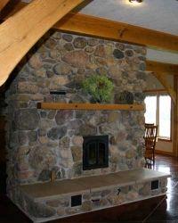masonry heater.  I like this rock.