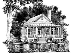 Floor Plans AFLFPW21101 - 1 Story Country Home with 2 Bedrooms, 2 Bathrooms and 1,286 total Square Feet