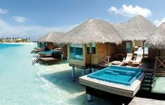 Private Spa Beach Cottage, The Maldives Islands