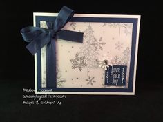 So Many Toys So Little Time, Stampin Up! A Little Something, To You and Yours, Christmas...