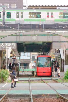 Toden-Aragawa Line, Otsuka Eki Mae, Sugamonitta