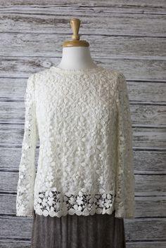 American Threads - Crochet Blouse