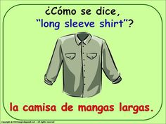 HOW DO YOU SAY... - THE CLOTHES (2) IN SPANISH
