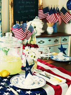 4th of July - Tablescape