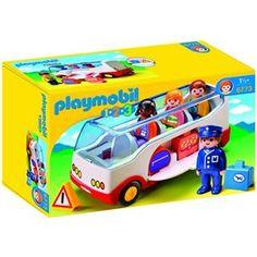 Autocar de voyage Playmobil 1.2.3 - 6773