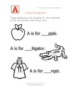 Words that start with the letter A