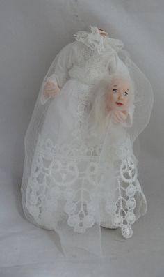 Dolls House Miniature Headless Lady Ghost 1-12TH Scale   eBay