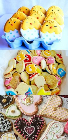 Love the chicks! Super cute idea and super easy. (Also totally loving the Pac-Man cookie set - something on my list of things to do)