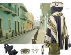 """Lunch, then Shopping at Old San Juan Puerto Rico"" by doris610 on Polyvore"