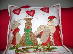 Cojin decorado por Sandra Lopez