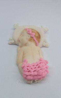Handmade Childrens Baptism cake topper by RUSTIKOcakeDecoratio, €18.80