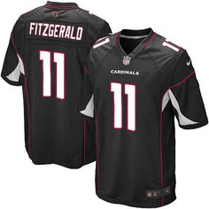 Nike Larry Fitzgerald Elite Black Alternate Youth Jersey - NFL Arizona  Cardinals C Patch d91de2629