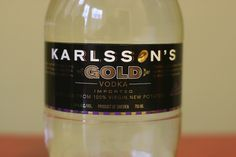 Karlsson's Gold Potato Vodka
