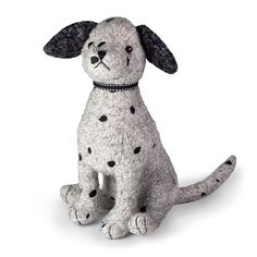 Dora Designs Spottie Dalmatian Door Stop looks like he's escaped from Cruela!  We all love a Dalmation, this boy will keep you door open or shut, please!