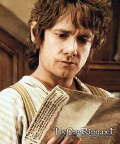 Martin as Bilbo.