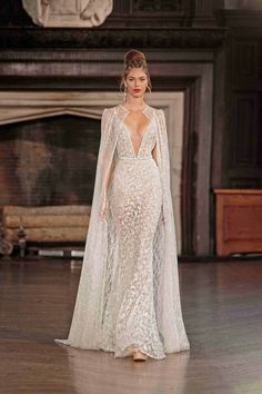 Awesome 50+ Wedding Dresses With Capes Ideas