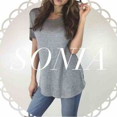 • Reserved • for Sonia • Your Fav Grey Tee (S) • Perfect White Tee (S) • Black Bralette (S) • Classic Ivory Tank (S) • Black Tank Bodysuit (S) * Include White Tunic Top Other