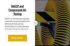 HACCP and Compressed Air Testing