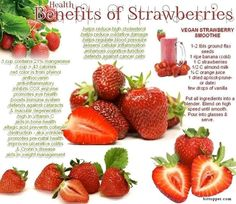 Three or more servings of blueberries and strawberries per week can help reduce risk of a heart attack by as much as a third #health #benefits #strawberries #infographic #foods #superfoods via www.bittopper.com/post.php?id=11922321365286999792df59.70523423