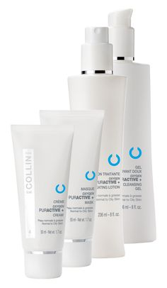 This Acne Line from G.M. Collins really works!! Perfect for normal to oily skin. #acne #skincare
