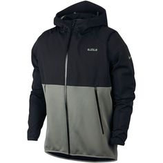 Nike Men's LeBron Hyper Elite Winterized Basketball Jacket (195 AUD) ❤ liked on Polyvore featuring men's fashion, men's clothing, men's outerwear, men's jackets, nike mens jacket, mens jackets and mens outerwear