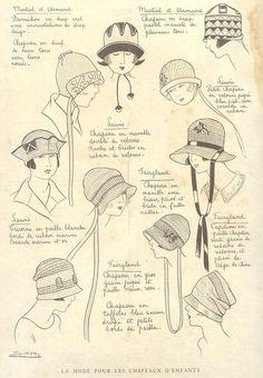 Vintage Hats, How to draw Hat, Drawing Hats, Hat Illustration with thanks to deschapeaux  Resources for Art Students, CAPI ::: Create Art Portfolio Ideas at milliande.com, Art School Portfolio Work